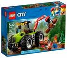 Конструктор LEGO City 60181 Лесной трактор