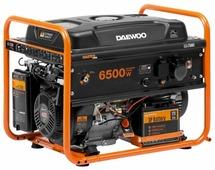 Бензиновый генератор Daewoo Power Products GDA 7500E (6000 Вт)