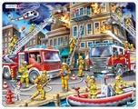 Рамка-вкладыш Larsen Пожарные (US21), 45 дет.