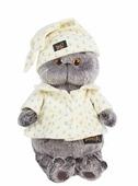 Мягкая игрушка Basik&Co Кот Басик в пижаме 25 см