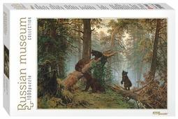 Пазл Step puzzle Русские музеи Утро в сосновом лесу (79218), 1000 дет.