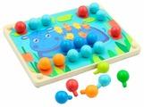 Шнуровка Мир деревянных игрушек Мозаика (Д421)