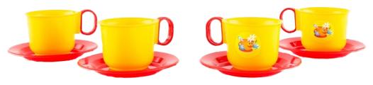 Набор посуды Пластмастер Набор чашек 21003
