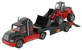 Набор техники Полесье Трейлер и трактор-погрузчик 206-03 Mammoet (57129)