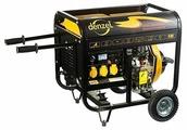 Дизельный генератор Denzel DD5800E (4500 Вт)