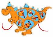 Шнуровка Woody Шнурозаврик-2 (0-1539)