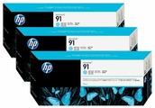 Комплект картриджей HP 91 (C9486A) 3 шт