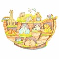 Пазл Woody Ноев ковчег (716), 50 дет.