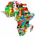 Пазл Гео-Магнит Африка и Океания в коробке (1022)