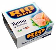 Rio Mare Тунец в собственном соку, 160 г