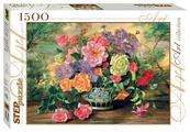Пазл Step puzzle Art Collection Цветы в вазе (83019), 1500 дет.