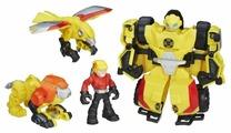 Трансформер Playskool Transformers Бамблби. Набор спасателей (Трансформеры-спасатели) C0296