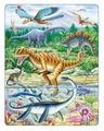 Рамка-вкладыш Larsen Динозавры (FH16), 35 дет.