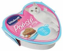 Корм для кошек Vitakraft Poesie Gelee лосось и шпинат