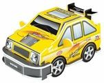 3D-пазл Pilotage 3D Машина S желтая (RC39889), 9 дет.