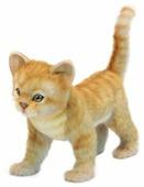 Мягкая игрушка Hansa Котёнок рыжий стоящий 23 см