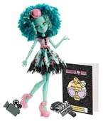 Кукла Monster High Страх! Камера! Мотор! Хани Свомп, 26 см, BDD86