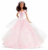 Кукла Barbie Пожелания ко дню рождения 2016 Афро-американка, 29 см, DGW31