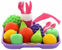 Набор продуктов с посудой Полесье 2 с подносом 46970