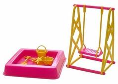 Астрон Набор мебели для кукол Детская площадка (0067)