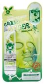 Elizavecca стимулирующая тканевая маска с экстрактом центеллы азиатской Centella Asiatica Deep Power Ringer Mask Pack