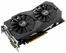 Видеокарта ASUS GeForce GTX 1050 Ti 1379MHz PCI-E 3.0 4096MB 7008MHz 128 bit 2xDVI HDMI HDCP Strix OC Gaming