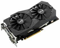 Видеокарта ASUS GeForce GTX 1050 Ti 1379MHz PCI-E 3.0 4096MB 7008MHz 128 bit 2xDVI HDMI HDCP Strix OC Gaming