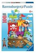 Пазл Ravensburger Приключение пиратов (10663), 100 дет.
