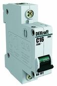 Автоматический выключатель DEKraft ВА-101 1P (B) 4,5kA