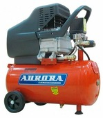 Компрессор масляный Aurora Wind-25, 24 л, 1.84 кВт