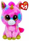 Мягкая игрушка TY Beanie boos Единорог Fantasia 15 см
