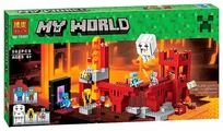 Конструктор BELA My World 10393 Подземная крепость