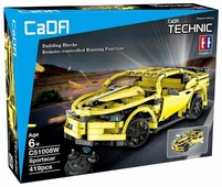 Электромеханический конструктор Double Eagle CaDA Technic C51008W Спортивный автомобиль