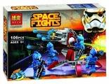 Конструктор BELA Space Fights 10367 Элитное подразделение Коммандос Сената