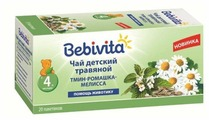 Чай Bebivita Тмин, ромашка, мелисса, c 4 месяцев