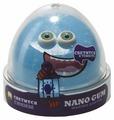 Жвачка для рук NanoGum светится в темноте синим 50 гр (NGBG50)