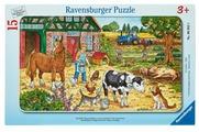 Пазл Ravensburger Жизнь на ферме (06035), 15 дет.