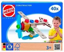 Винтовой конструктор HEROS 39013 Самолет