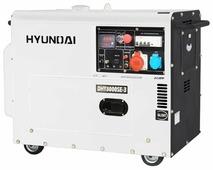 Дизельный генератор Hyundai DHY-8000 SE-3 (6000 Вт)
