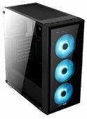 Компьютерный корпус AeroCool Quartz RGB Black