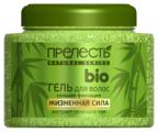 Прелесть bio гель для волос Жизненная Сила с экстрактом зеленого чая