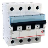 Автоматический выключатель Legrand TX3 4P (C) 6kA