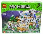 Конструктор BELA (Lari) My World 10735 Горная пещера