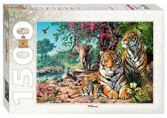 Пазл Step puzzle Art Collection Тигры (83054), 1500 дет.
