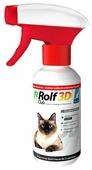 RolfСlub 3D Спрей от клещей и блох для кошек, 200 мл