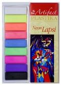 Полимерная глина Artifact LAPSI NEON 9 флуоресцентных цветов (7109-58), 180 г