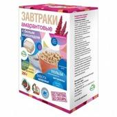Готовый завтрак Di & Di Завтраки амарантовые шарики с белым шоколадом, коробка