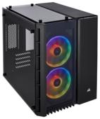 Компьютерный корпус Corsair Crystal Series 280X RGB Tempered Glass Black