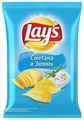 Чипсы Lay's картофельные Сметана и зелень