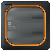 Внешний SSD Western Digital My Passport Wireless SSD 2 TB (WDBAMJ0020BGY)